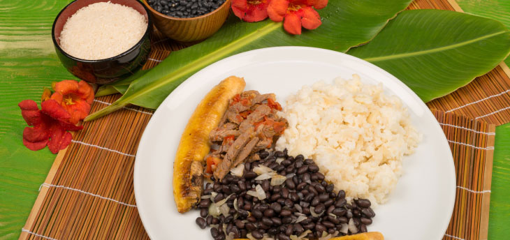 cuban food rice and beans