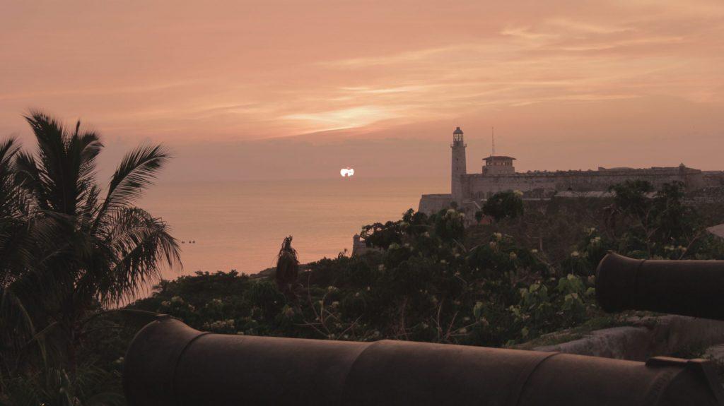 puesta de sol cuba