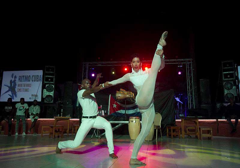 Shows cuban dance festival