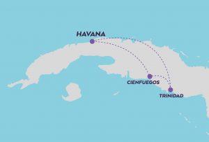 Week in Cuba map