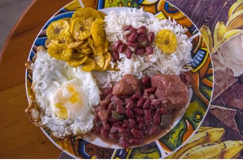 Cuban food in paladares
