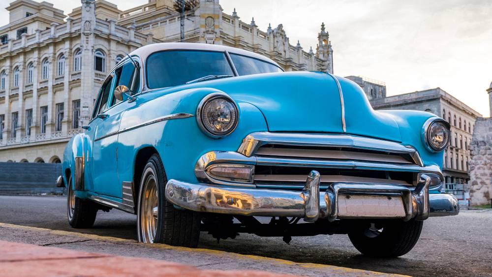 classic american car cuba
