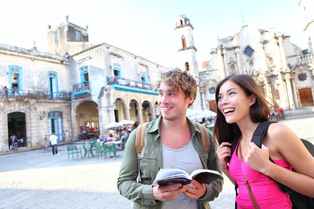 tourist in cuba
